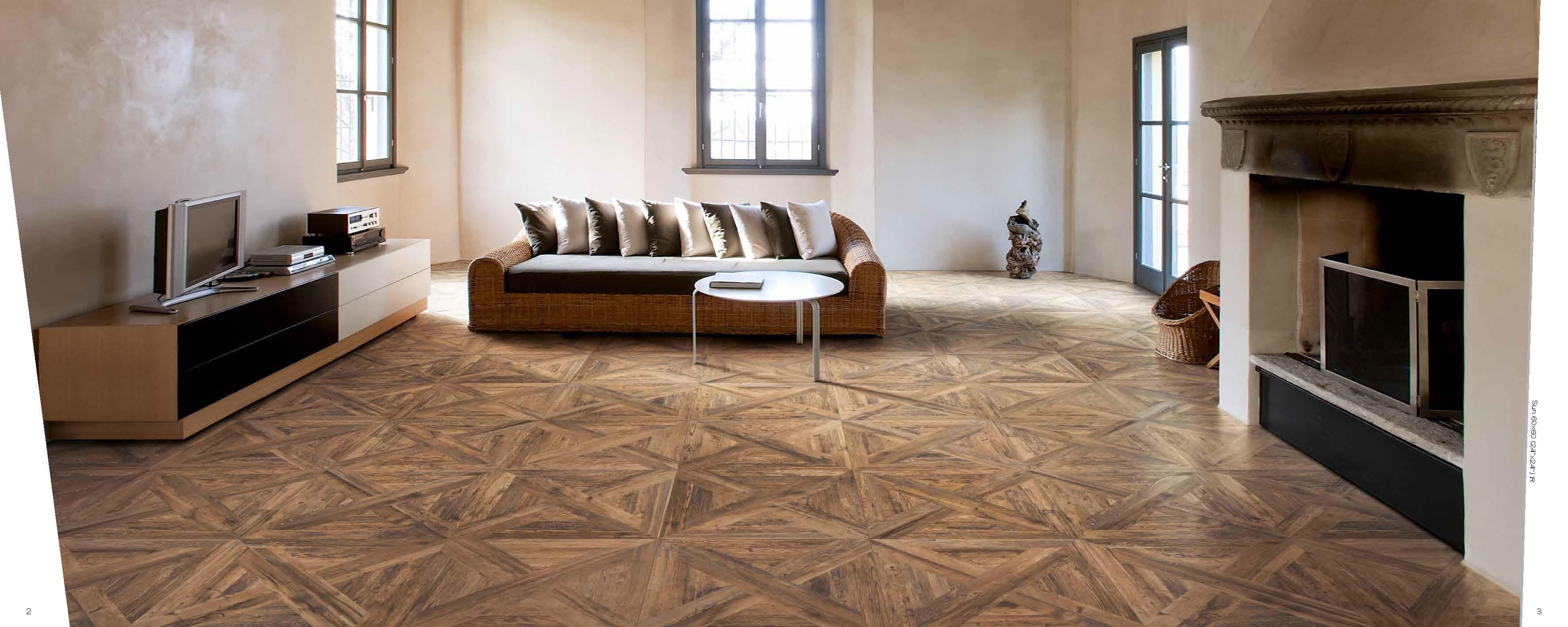 Latest Flooring Trend Wood Tile